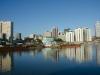 1. Manila-Pogled na enega izmed centrov Manile, reka Pasig je ena glavnih prometnih žil.jpg
