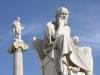 Grcija-Atene-kip Sokrata