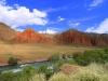 Slikovita kirgiška pokrajina