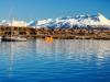 Argentina-Ushuaia-pogled na mesto in gore