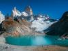 Patagonija-Glacier lake-Fitzroy