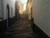 Madeira-Pau Do Mar, ozke z bazaltom tlakovane ulice