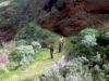 Madeira-Pau Do Mar, strma pot proti oceanu