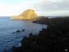 Madeira-Porto Moniz, skrajni SZ del Madeire obsijan s soncem