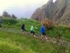 Madeira-Prazeres, ogrevanje in masaža stopal pred pohodom
