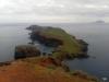 Madeira-Sv. Lovrenc, pogled z vrha proti Ilhas Desertas