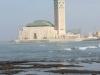 Mošeja Hassana drugega v Casablanci in Atlantik.