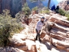 Zion angels landing, meni ni bilo do smeha