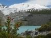 9-2-laguna Huemul z ledenikom v ozadju