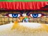 Nepal-Budine oči