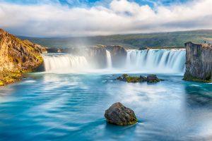 Slap Godafoss-Islandska saga