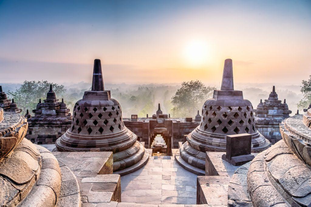 Indonezija - tempelj Borobudur