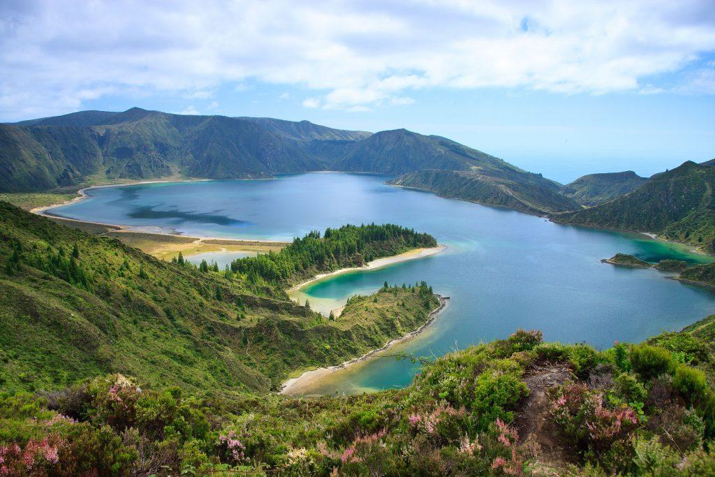 Azori-Sao Miguel-jezero Fogo