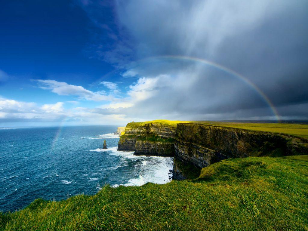 Irska-Moherski klifi-mavrica
