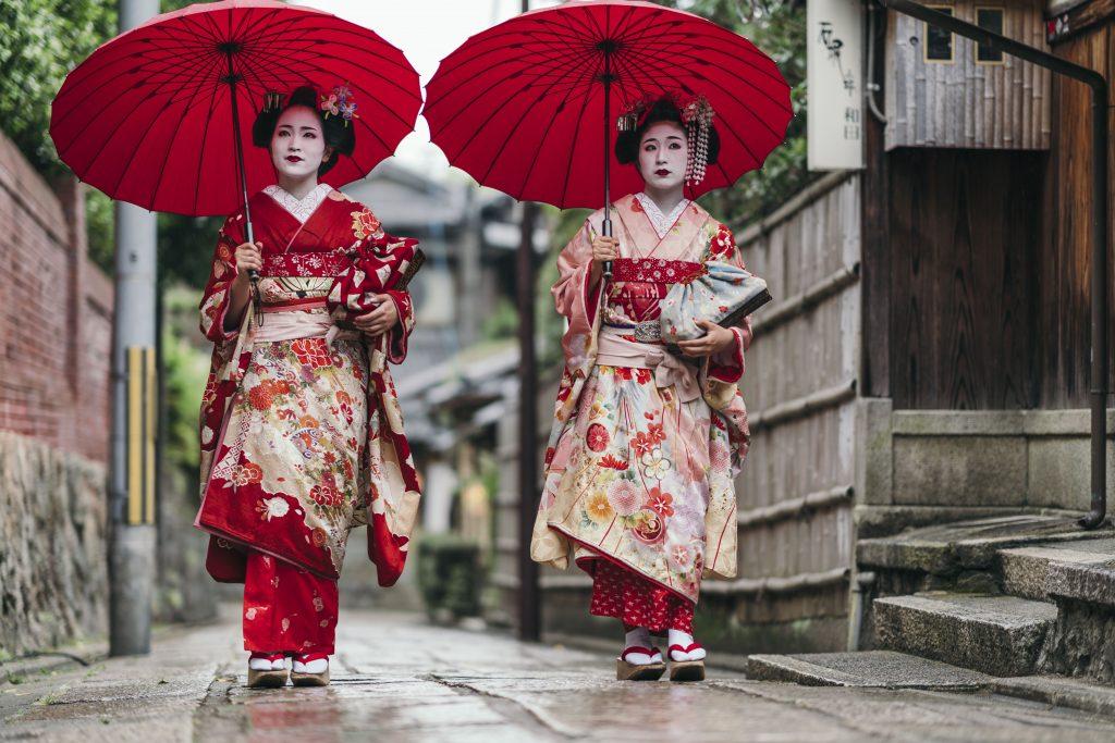 Japonska-Kyoto-Gejše