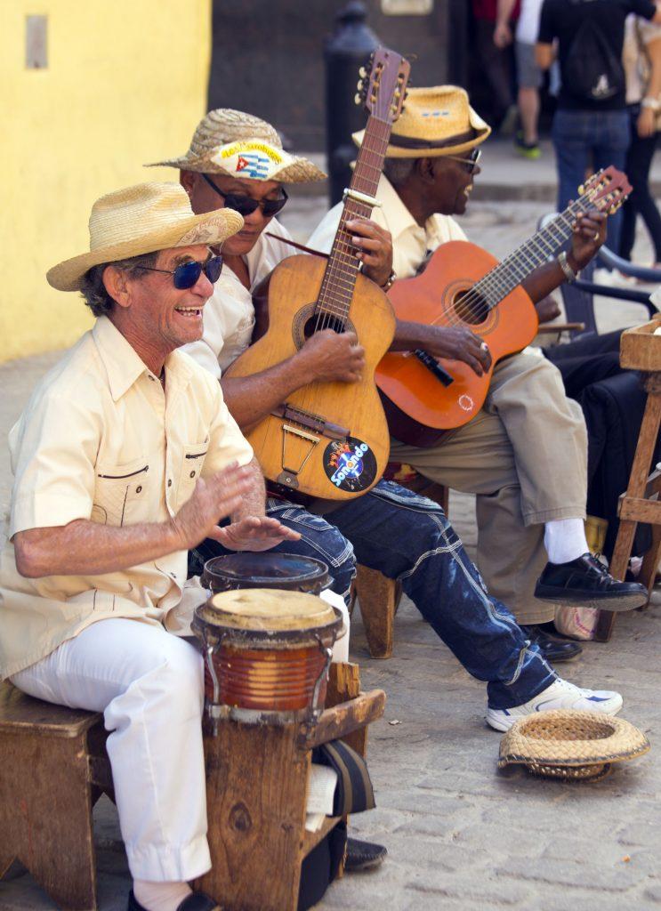 Kuba-Havana-glasba na ulici