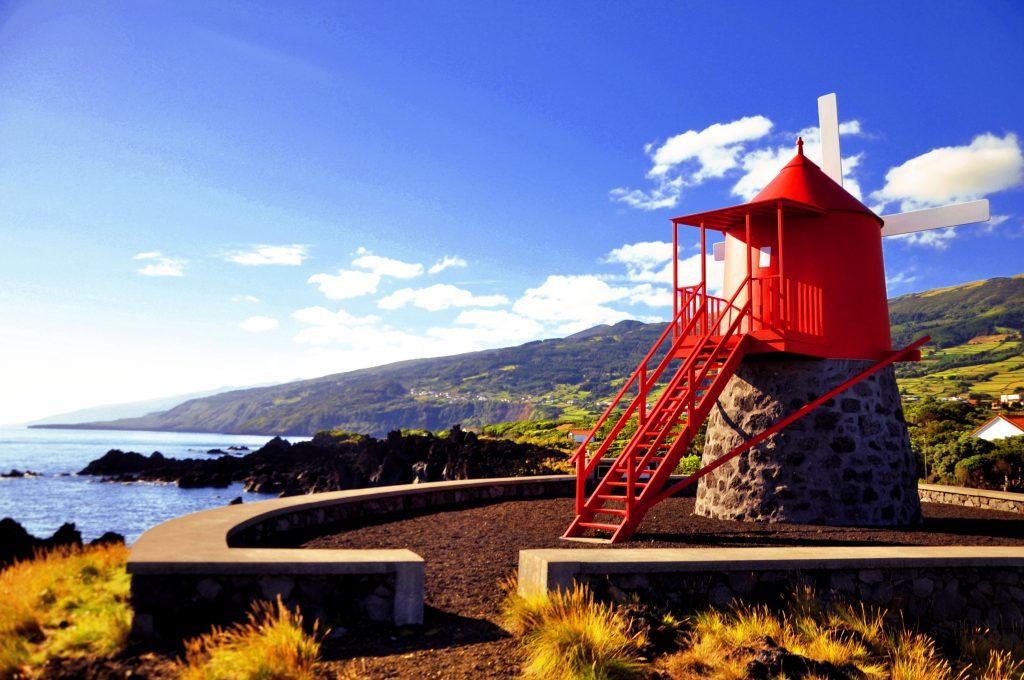 Azori- Pico - mlin