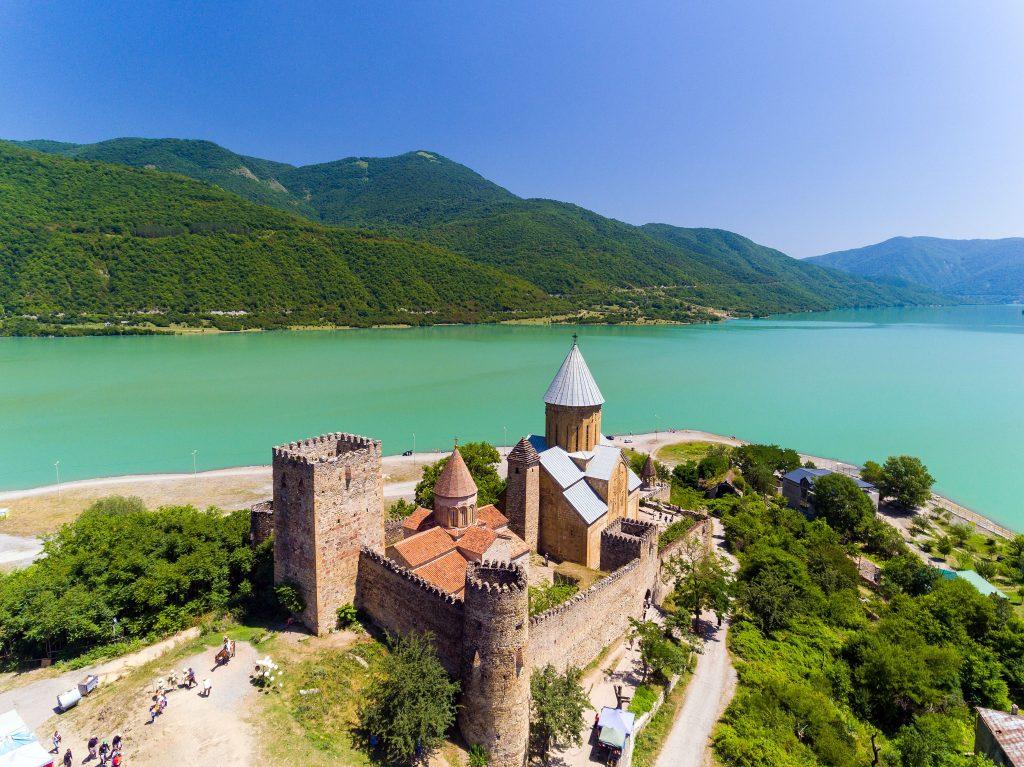 Gruzija - Ananuri grad