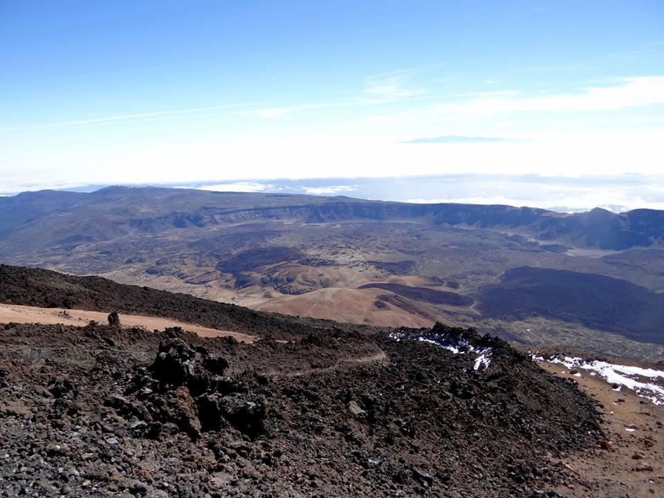 Tenerife- pogled iz Teide