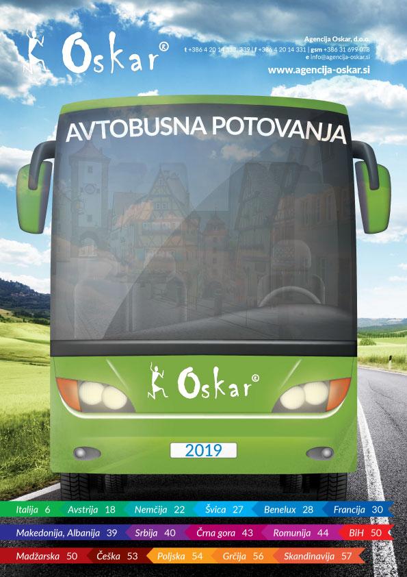 oskarjeva avtobusna potovanja - NOVI KATALOGI OSKARJEVIH POTOVANJ 2019 SO TU!