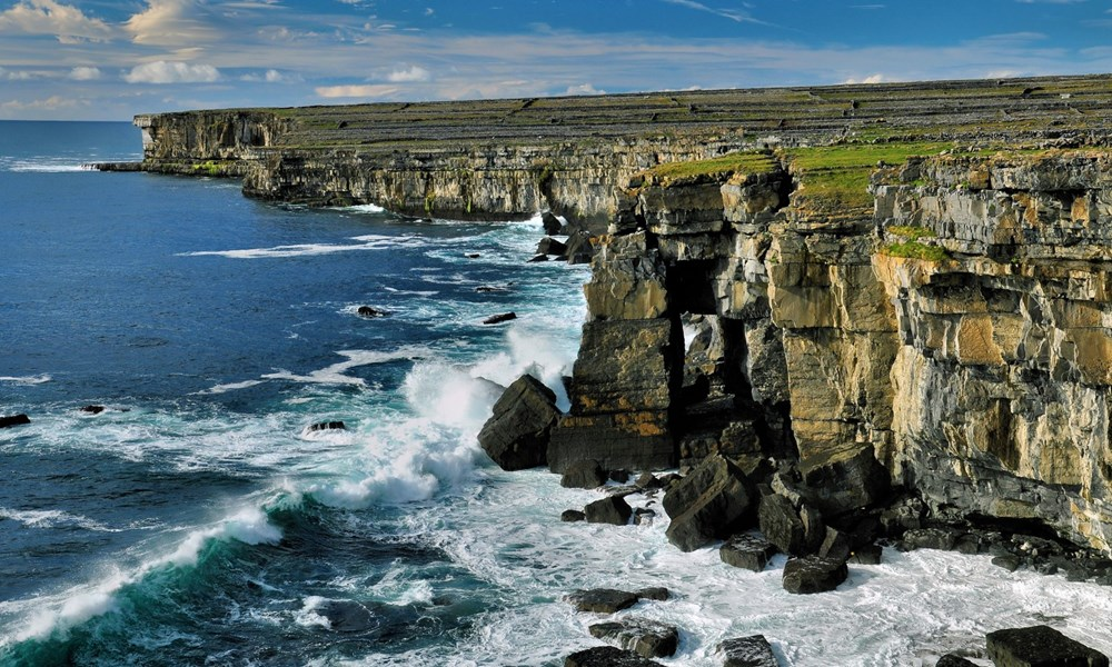 Irska- Aranski otoki- klifi