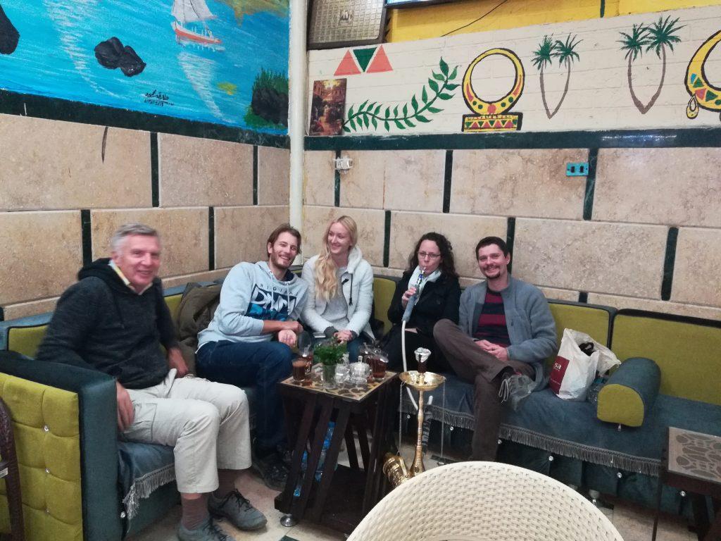 Egipt - Asuan - na egipčanskem čaju in kavi