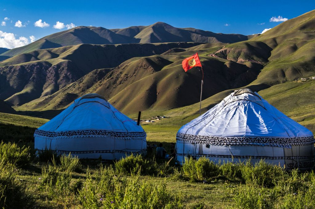 Kirgizija-jurte