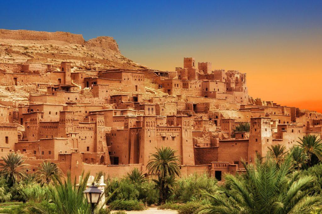 Maroko-Ait Ben Haddou