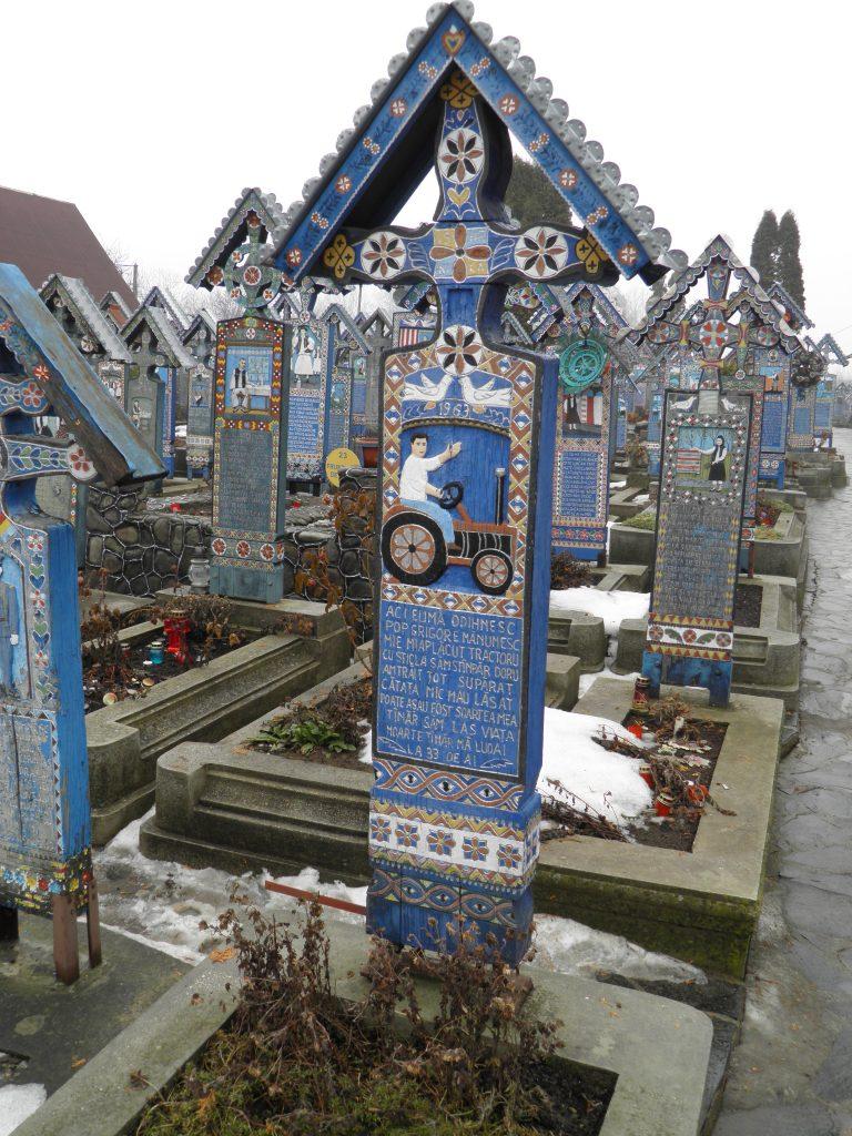 Veselo pokopališče- Romunija