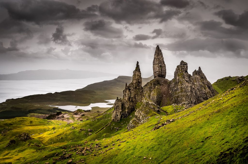 Škotska-Old Man of Storr