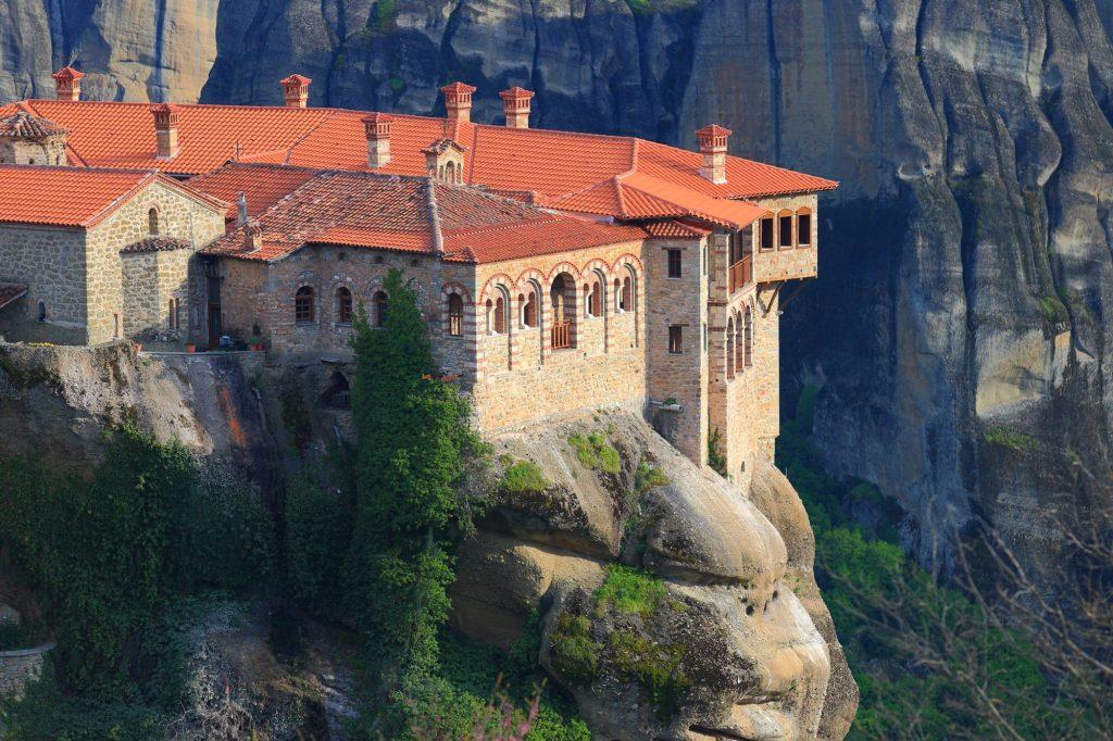 Grčija-Meteora -samostan