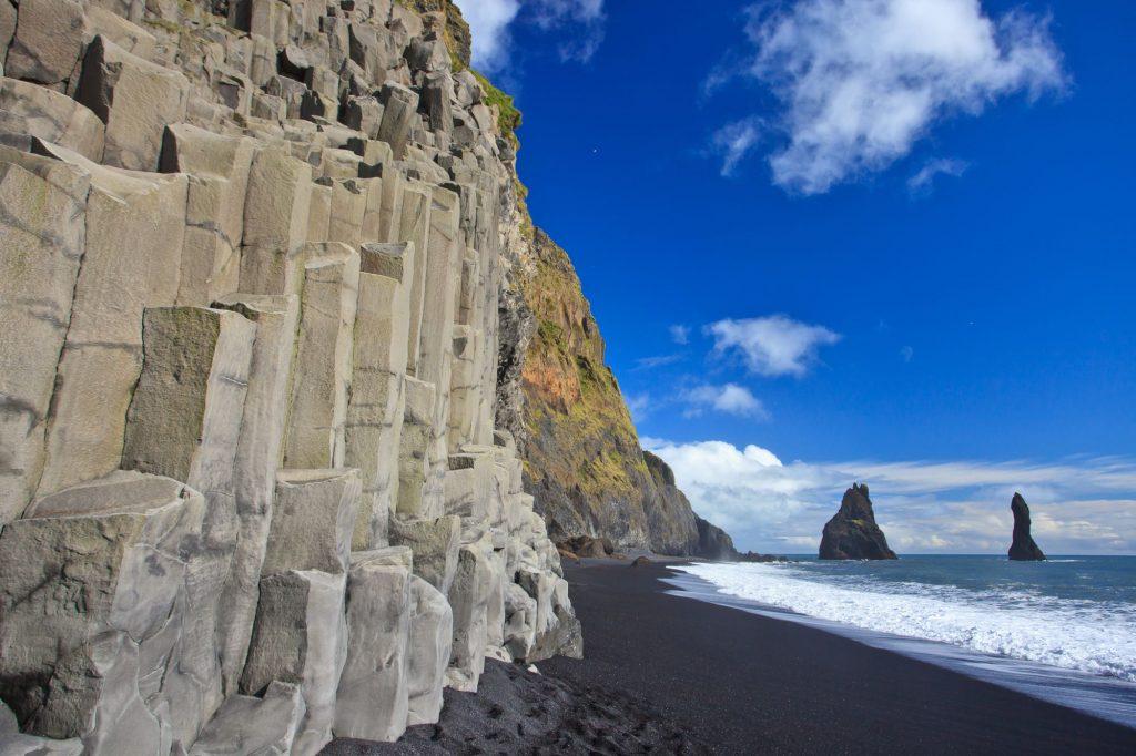Islandija-črna plaža