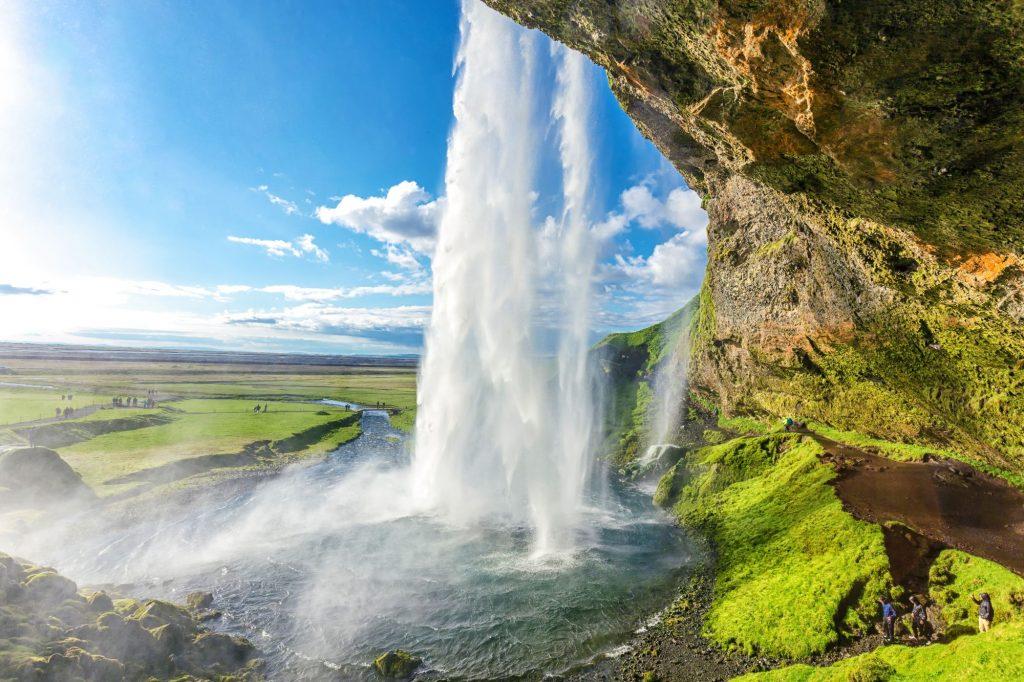 Islandija-slap Sejlandsfoss