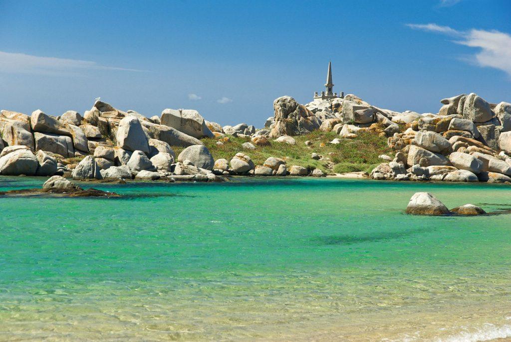 Korzika-plaža