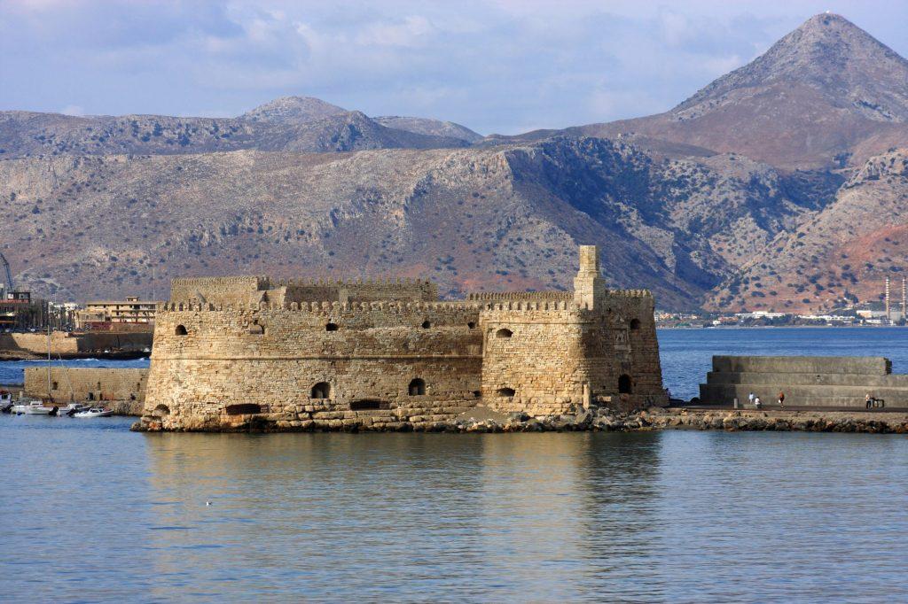 Kreta-Heraklion-Beneška trdnjava
