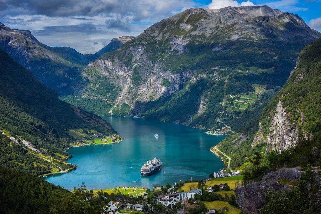Skandinavija-Norveška-Geiranger fjord