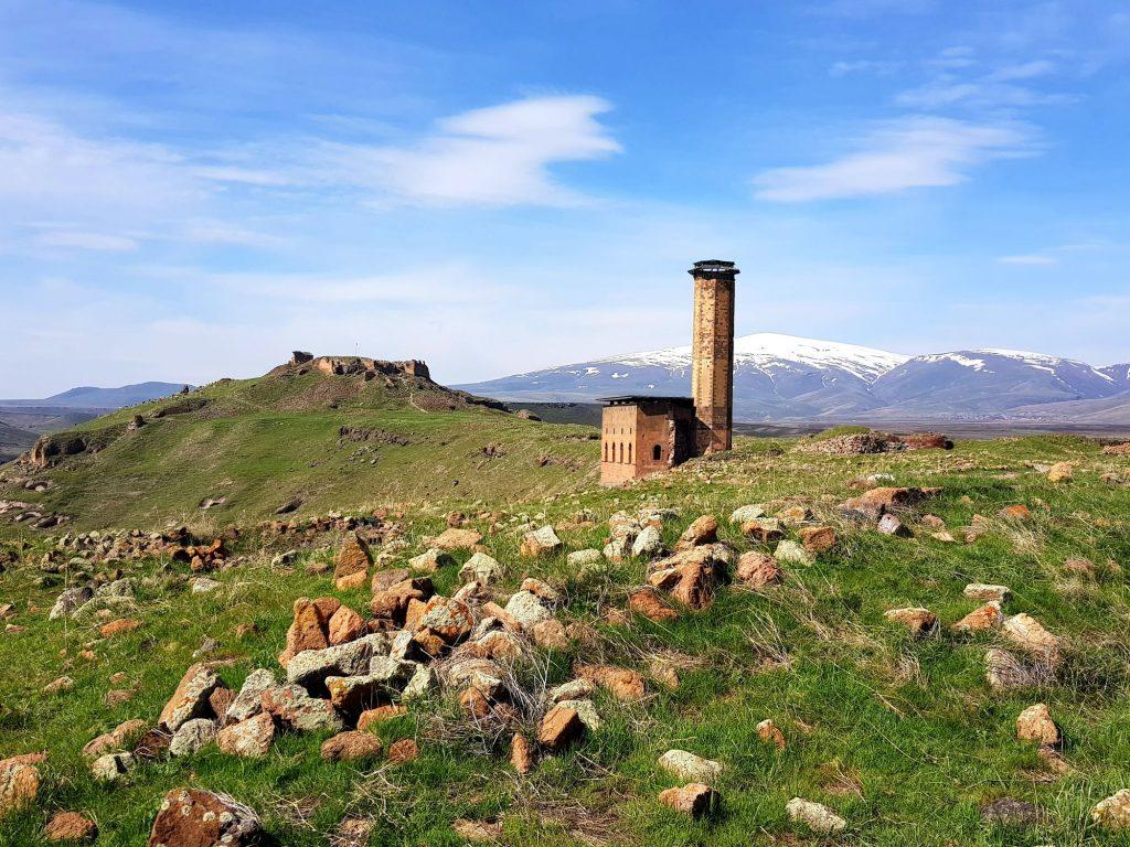 07-vzhodna Turčija-Ani-armenska prestolnica v osrednjeazijski ravnici spi svoj večni sen