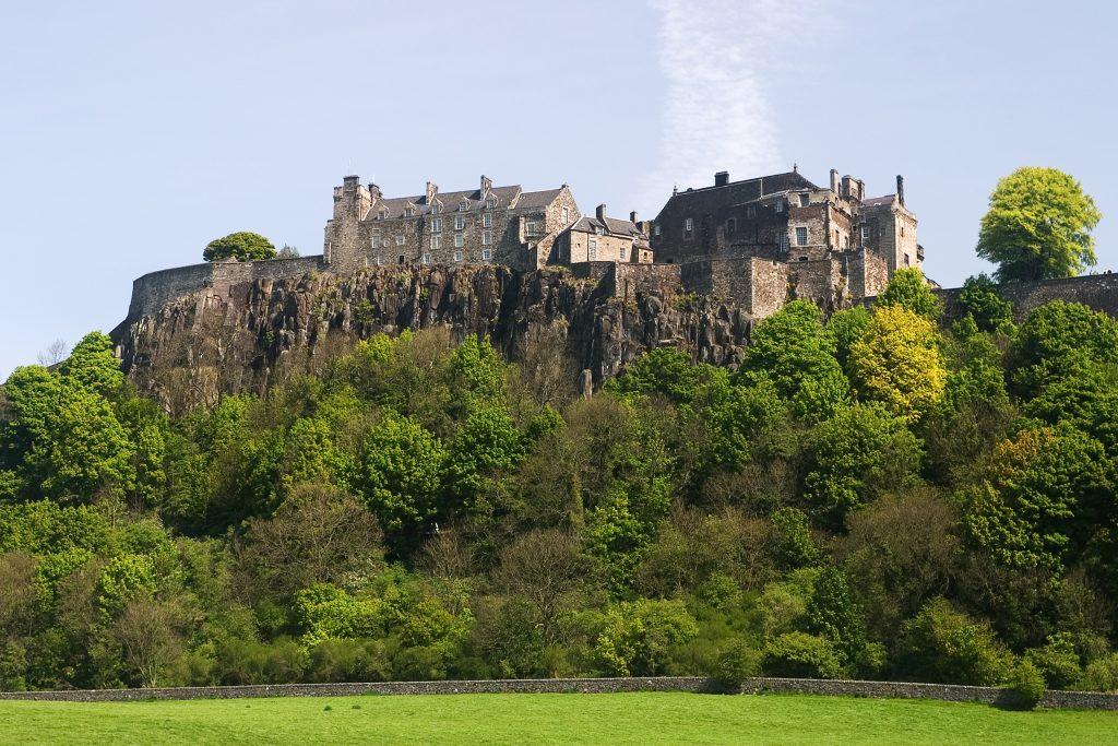 Škotska, Stirling grad