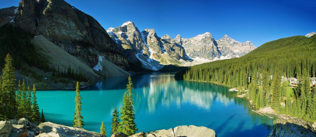 Kanada-Lake-Moraine-panorama-Banff-nacionalni park