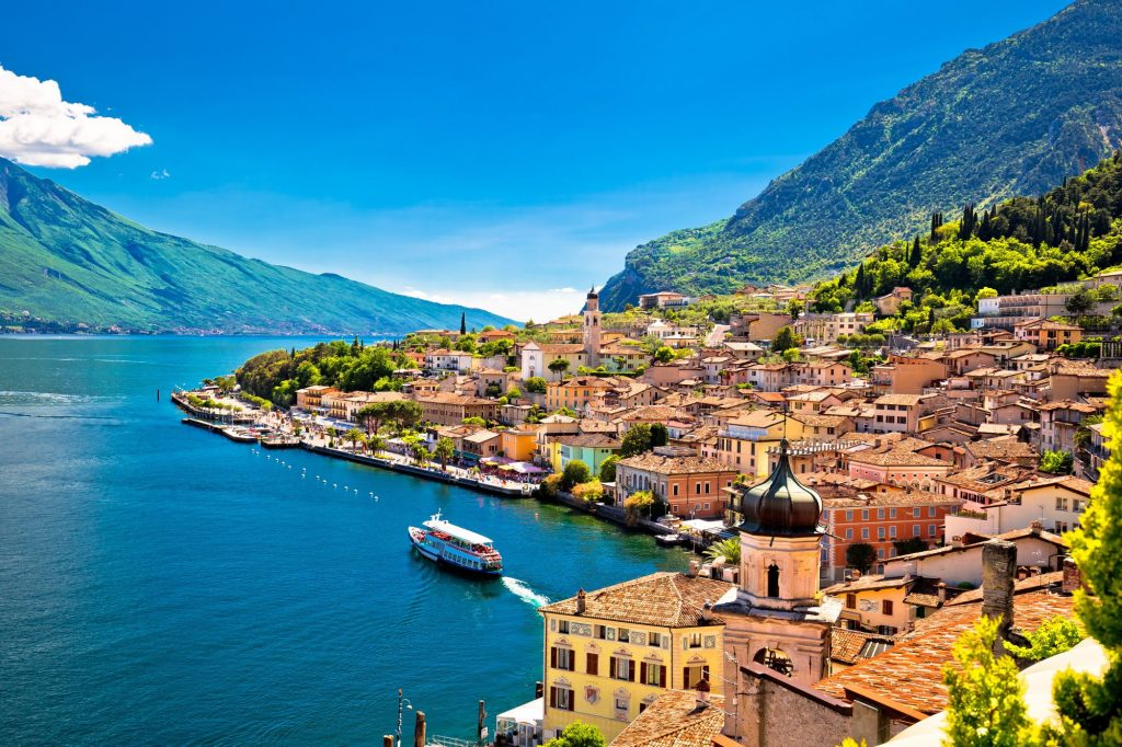 Italija-Gardsko jezero-Limone-sul-Garda