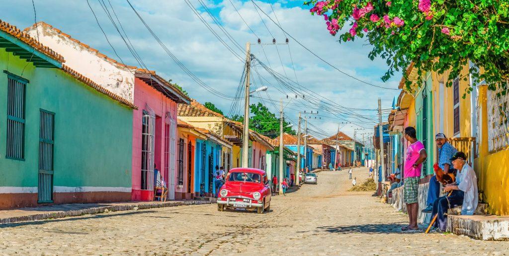 Kuba-Trinidad-ulica