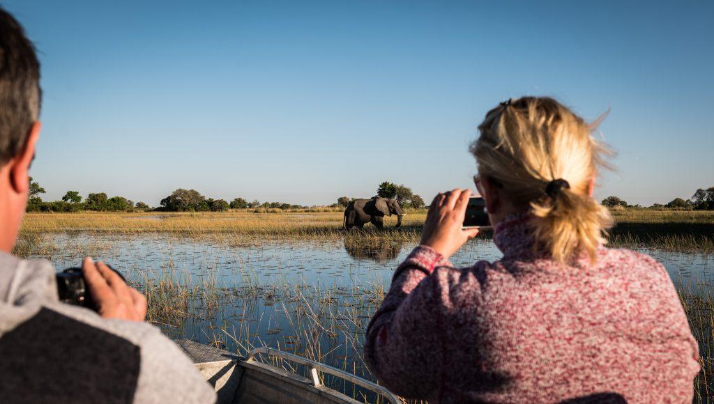 Afrika Bocvana Okavango delta mokoro in sloni 512320045 1024x580 - Vtisi potnikov z oktobrskih potovanj - 2. del