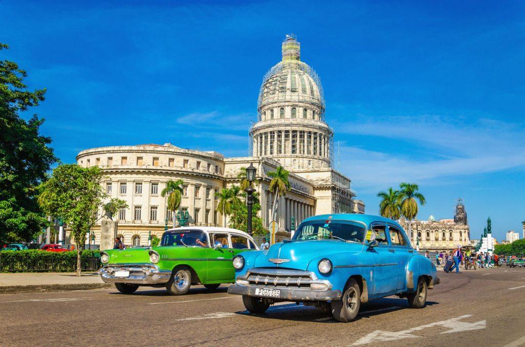 Kuba-Havana-avtomobili