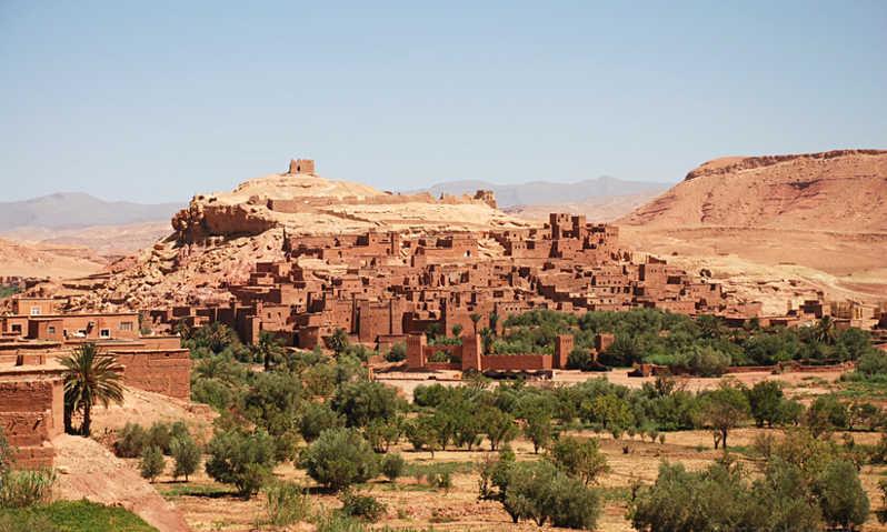 maroko ait ben haddou jesen - Čarobni Maroko privlačen skozi vse leto