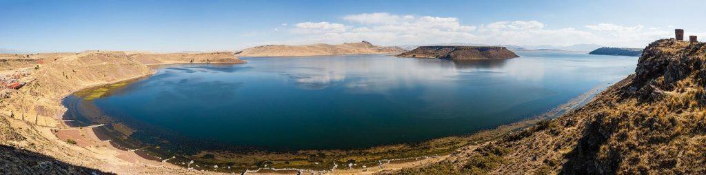 29 Jezero Umayo 1024x254 - Peru - Med potomci Inkov