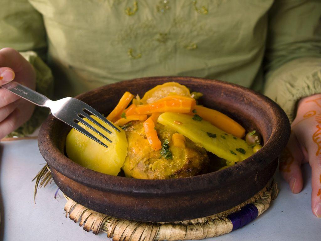 G3 MARS Maroko hrana tajin 1024x768 - Med nomadi na jugu Maroka