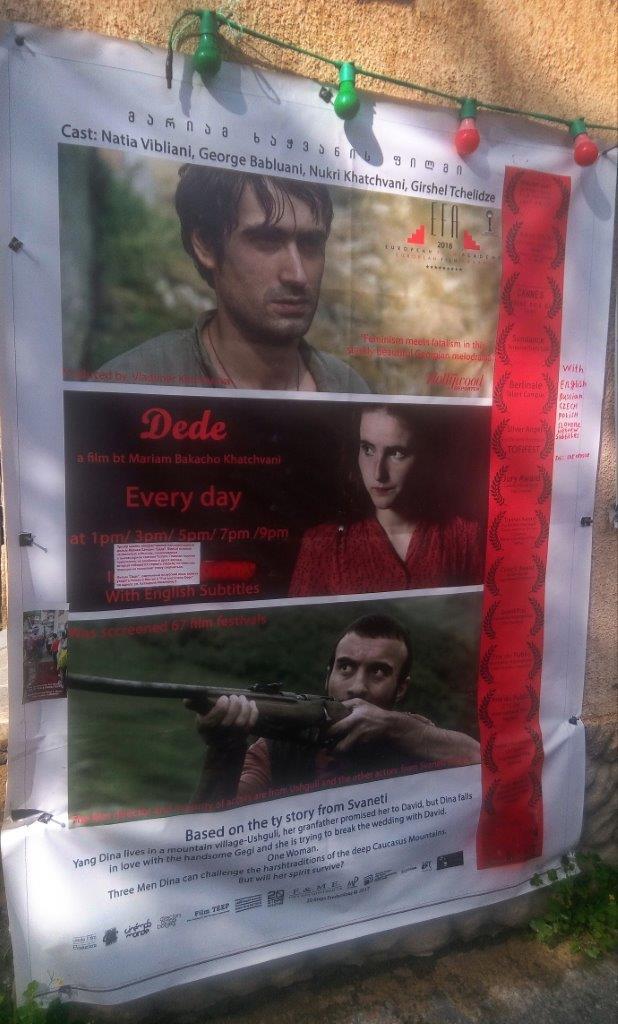 05 Gruzija in Armenija plakat za film Dede - Utrinek iz Svanetija