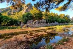 Turčija-Olimpos-jutranje zlitje z mističnim vzdušjem