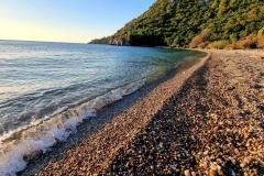 Turčija-Olimpos-jutranja plaža in toplo morje