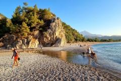 Turčija-Olimpos-prvi kopalci ob 6 uri zjutraj-užitek čez vse